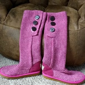 UGG classic candy knit (5819) boots